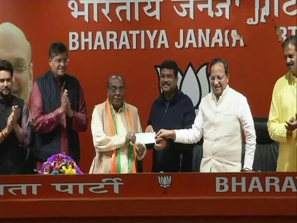 Dama Rout joins BJP