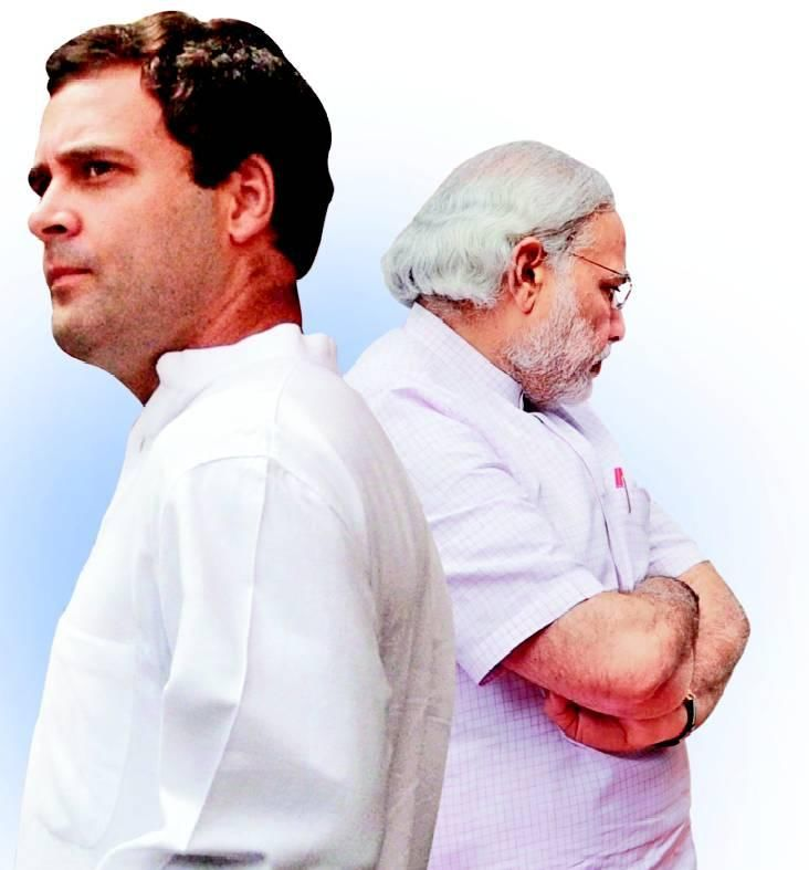 Weak Modi scared of Xi, says Rahul; BJP hits back