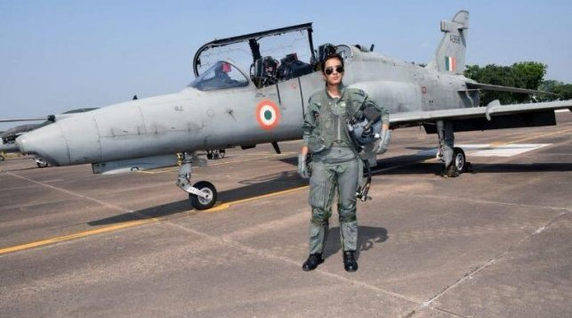 Flight Lt Mohana Singh becomes first woman to fly Hawk jet