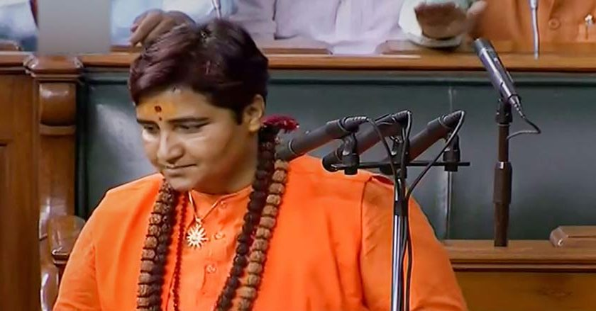 Opposition uproar over Pragya Thakur's oath in LS